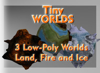worlds land ice 3d fbx