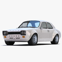 escort mk rs1600 3d model