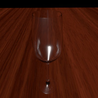 wine glass 3d c4d