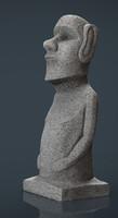 max moai statue
