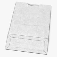 paper pastry bag 4 3d 3ds