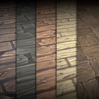 Hand Painted Wood Texture Vol.02