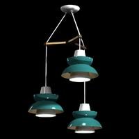 chandelier astron tri mid-century max