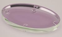 crystal glass soap dish 3d model