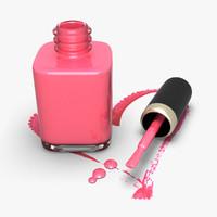 pink nail polish max