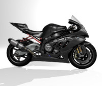3d model of motorcycle sportbike