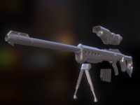 fbx version sniper rifle