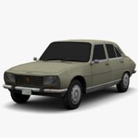 3d model peugeot 504 - dirt