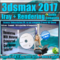 Iray + 3ds max 2017 Rendering Guida Completa 3 mesi Subscription 1 Computer