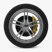 aez portofino disk car wheel 3d dxf
