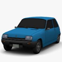 3ds renault 5 - color