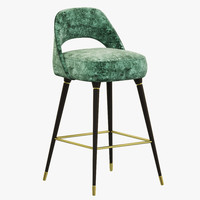 3d essential home collins bar chair model