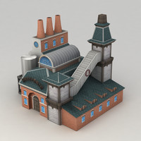3d brewery model