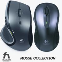 3d logitech mouse model