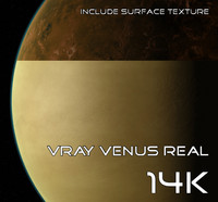 Vray Venus Real 14K