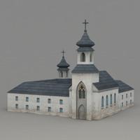 3d monastery