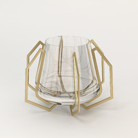3d model baker iron eye bowl
