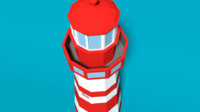 lighthouse 3d 3ds