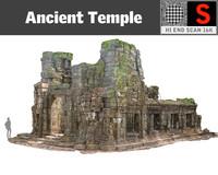3d obj lost temples 16k