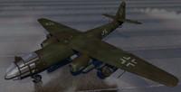 arado bomber 3d model