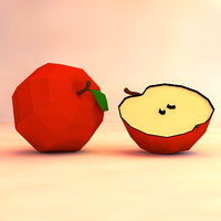 apple asset 3d obj