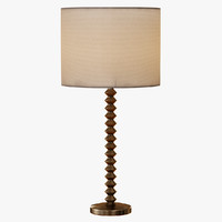 candlestick table lamp 3d max
