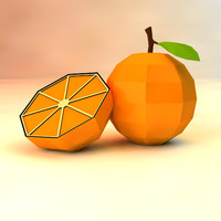 obj orange asset