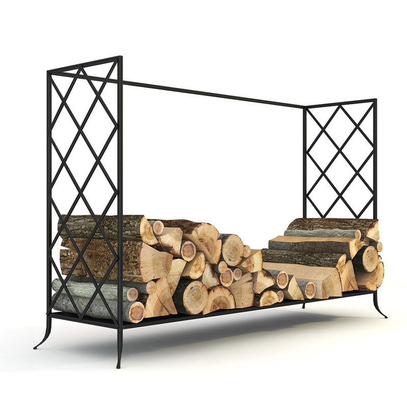 fireplace log holder 3d max