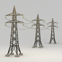 obj electrical tower