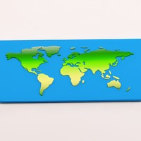 3d 3ds cartoon earth projects