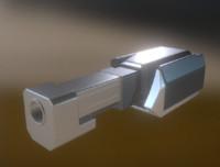 3d obj heavy gun modul