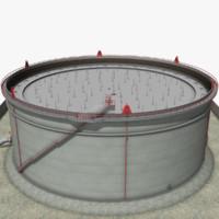 max crude oil storage tank