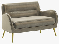 essential home dandridge sofa 3d max