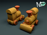 max wood toy train