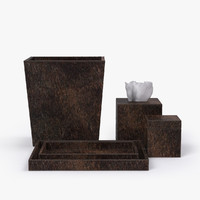 restoration hardware brazilian hide 3d model