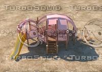 3d playground pig