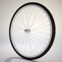 bicycle wheel 3d max