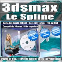 Corso 3ds max Le Spline, Versione MP4