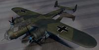 3d dornier do-17z-2 bomber