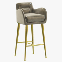 3d essential home dandridge bar chair