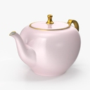 Toy Tea Set 3D models