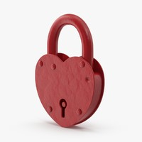 heart shape lock closed max