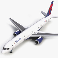 boeing 757-200f delta air lines 3ds