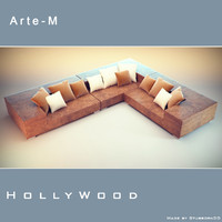 sofa hollywood 3d max