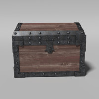 3d model of realistic chest