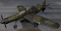 3d dornier do-335 a-12 bomber