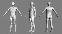 mesh topology 3d model