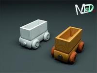 max wood train wagon t2v1