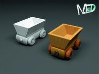 wood train wagon t2v2 max