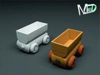 max wood train wagon t2v3
